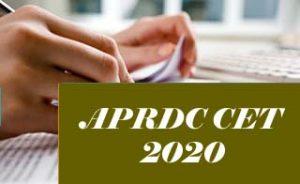 APRDC 2020, APRDC CET 2020, APRDC Exam: Notification, Exam date, Eligibility, Application form