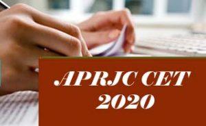 APRJC 2020, APRJC CET 2020, APRJC Exam: Notification, Exam date, Eligibility, Application form