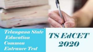 TS BEd 2020, TS EdCET  2020 : Exam date, Notification, Online application form, Important Dates