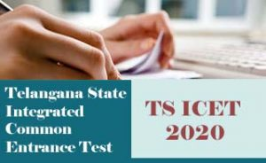 TS ICET 2020, ICET 2020 :  Exam date, Notification, Eligibility, Fee, Online Application Form,