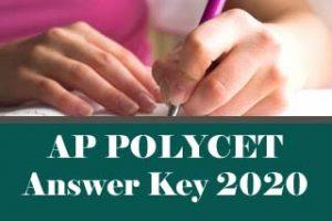 AP POLYCET Answer Key 2020 for SET A, B, C, D, AP POLYCET 2020 Answer Key