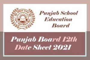 Pseb 10th Date Sheet 2021 Punjab Board 10th Class Date Sheet 2021 Pdf Jobnotifys In Latest Govt Jobs Sarkari Result