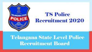TS Police Recruitment 2020 : 13000-Upcoming Constable, SI