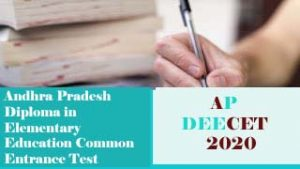 AP TTC 2020 , AP DIETCET  2020, AP DEECET 2020 : Notification, Exam date, Eligibility