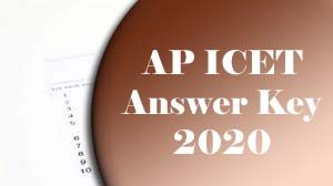 AP ICET Answer Key 2020 Download, AP ICET Key, AP ICET 2020 Answer Key