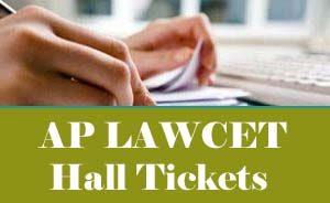 AP LAWCET Hall ticket 2020, AP LAWCET Hall ticket download 2020