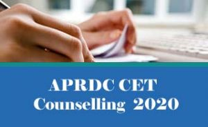 APRDC Counselling 2020, APRDC Counselling Date 2020, APRDC 2020 Counselling