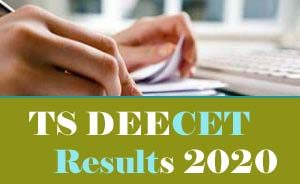 TS DEECET Results 2020, TS DIETCET Results 2020, TS TTC Results 2020