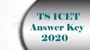 TS ICET Answer Key 2020 Download, TS ICET Key 2020