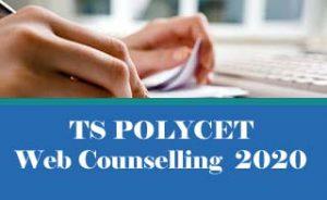 TS POLYCET Counselling 2020, TS POLYCET Web Counselling 2020