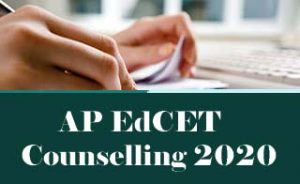 AP EdCET Counselling 2020, Counselling Dates, Fee, Procedure