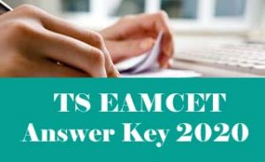 TS EAMCET Answer Key 2020, Official TS EAMCET 2020 Key