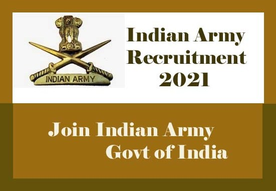 Indian Army Recruitment 2021   Upcoming Vacancy-4000 ...