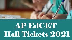 AP EdCET Hall ticket 2021 Download, AP EdCET Hall ticket Download 2021