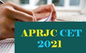APRJC 2021, APRJC CET 2021, APRJC Exam-Notification, Apply Online