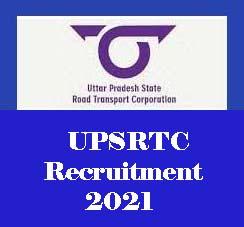 UPSRTC Driver Recruitment 2021, UPSRTC Samvida Driver Upcoming Vacancy 2021