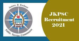 JKPSC Lecturer Recruitment 2021, JK Lecturer Recruitment 2021
