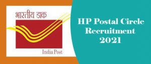 HP Postal Circle Recruitment 2021