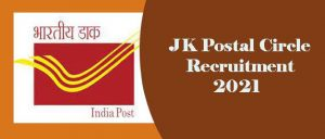 JK Postal Circle Recruitment 2021