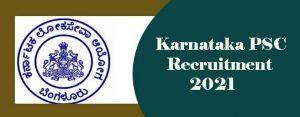 KPSC Group-A Recruitment 2021